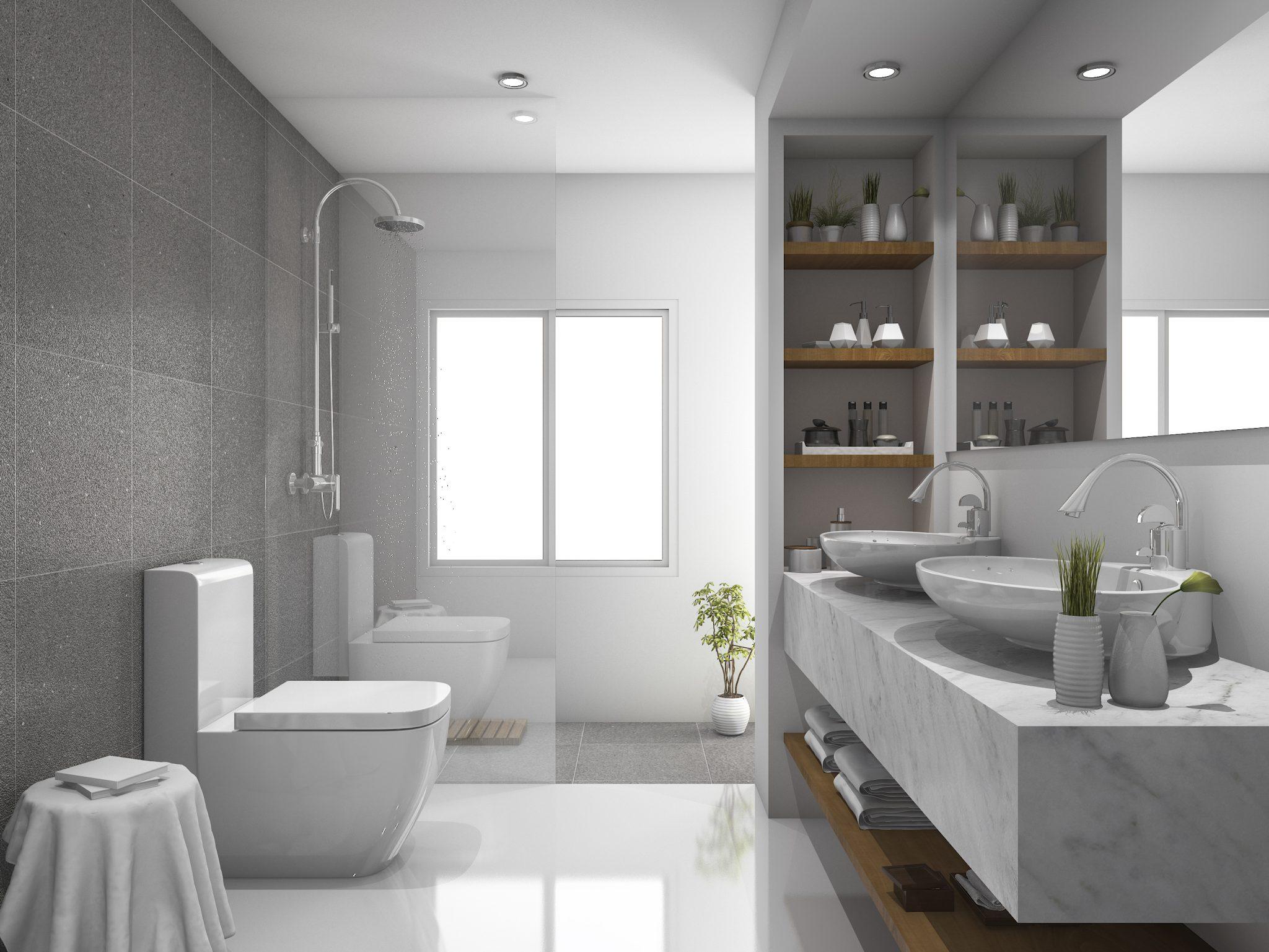 baños de mármol tendencias