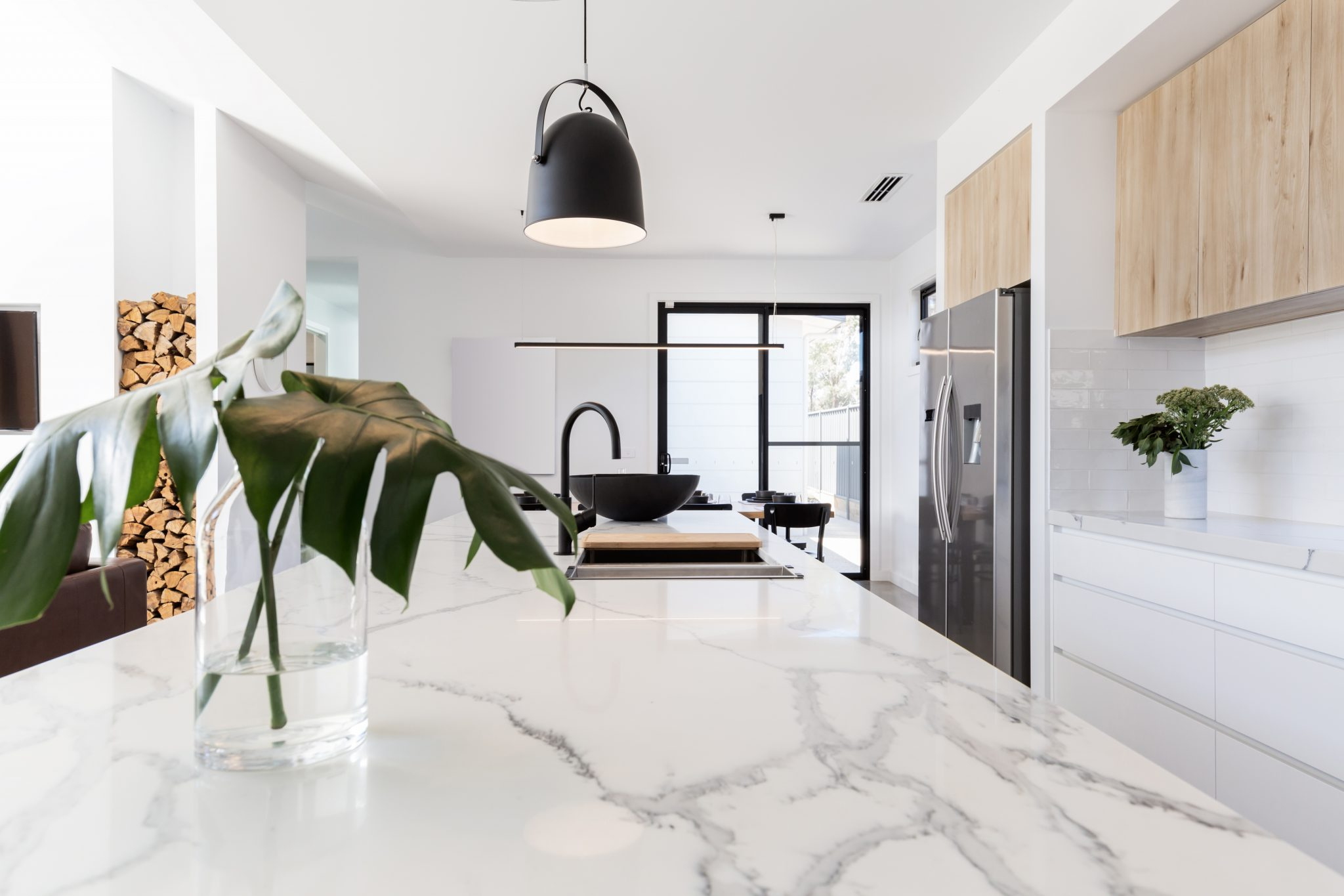 cocinas con marmol